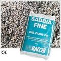 SABBIA FINE DEL PO IN SACCO DA 25 KG